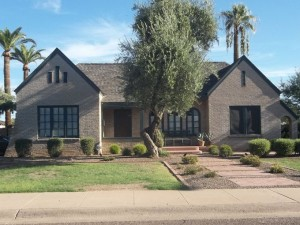 Tudor Revival In Margarita Place Historic District, Phoenix
