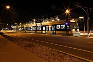 Light Rail Downtown Phoenix, AZ, Central Avenue Corridor