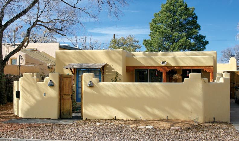Adobe pueblo revival downtown historic phoenix real estate for Pueblo home builders