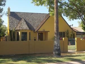 Tudor Revival In LaHacienda Historic District