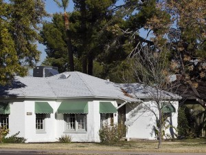 French Provincial Historic Home in Woodlea Historic District