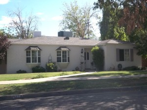1941 A French Provincial Ranch In Del Norte Place District