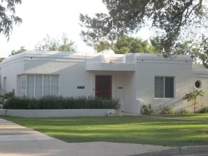 Art Moderne Home In Yaple Park Phoenix