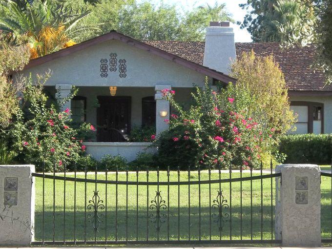 Los olivos historic district history historic phoenix for Classic house phoenix