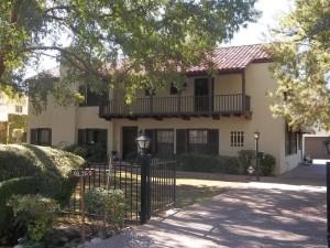 Monterey Revival in La Hacienda Historic District
