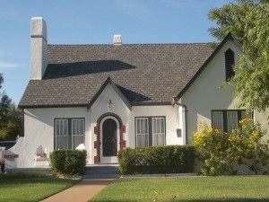 Homes in the F.Q. Story neighborhood were built between the 1920s and the 1940s. This home on Lynwood Street was built in 1931.