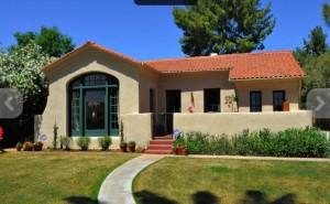 Rare Adobe Spanish Revival Bungalow In WIllo Historic Phoenix