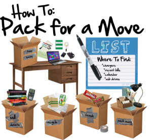 8 Things Not To Pack When Moving