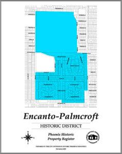 Encanto Palmcroft Historic District Homes Phoenix Arizona