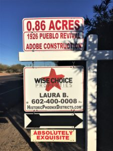 Historic Phoenix Sellers Real Estate Agent