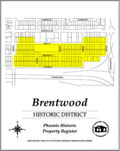 Brentwood Historic District Homes Phoenix AZ