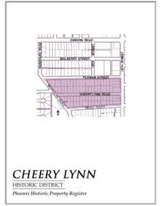 Cheery Lynn Historic District Homes Phoenix Arizona