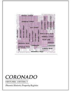 Coronado Historic District Homes Phoenix