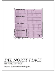 Del Norte Place Historic District Homes Map