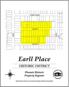 Earll Place Historic District Phoenix Arizona