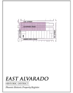 East Alvarado Historic District Homes Phoenix Arizona