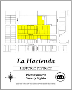 Homes La Hacienda Historic District Phoenix AZ