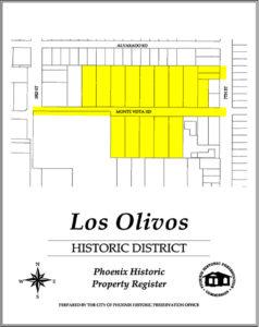 Los Olivos Historic Phoenix District Homes