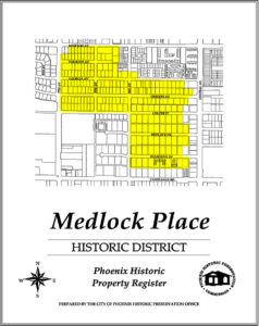 Medlock Place Historic District Phoenix Homes