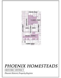 Phoenix Homesteads Historic District Homes Phoenix