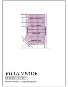 Villa Verde Historic District Homes Phoenix