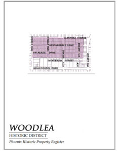 Woodlea Historic District Homes Central Phoenix