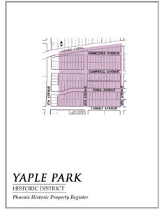Yaple Park Historic District Homes Phoenix
