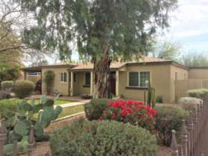 Ranch Homes Historic Central Phoenix Real Estate