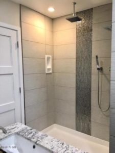 custom,shower,Scottsdale,historic,home,district